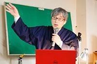 講演者稲本正さん
